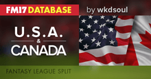 USA & CANADA - FM17 Fantasy League Split (7 Tier/4 Tier)