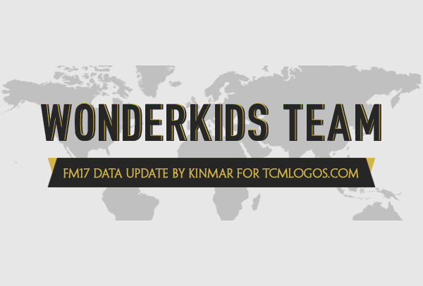 FM 2017 Fantasy Scenarios - WonderKids Team Update FM17 by TCMLogos.com