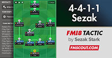 Basic Football (4-4-1-1 Sezak)