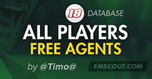 All Players Free Agents V3.0 [FM18 DB]