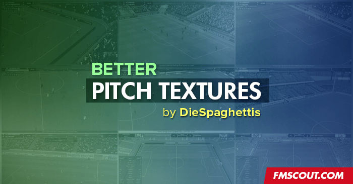 FM 2018 Misc Graphics - Better Pitch Textures for FM18