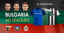 Bulgaria All Leagues Graphics Megapack 2018-19