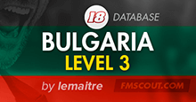 Bulgaria Level 3 for FM18