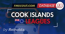 Cook Islands Leagues for FM2018