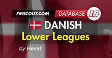Danish Lower Leagues for FM18