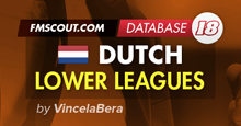 Dutch Lower Leagues for FM 2018 by VincelaBera