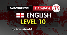 English Level 10 - FM18 Database