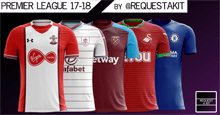 English Premier League Kits 2017/18