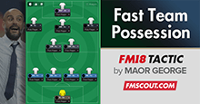Fast Team Possession Pep Style