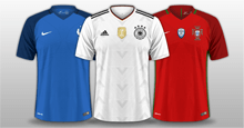 FC'12 Europe nations kits 2017/18