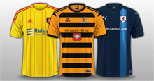 FC'12 Scotland Ladbrokes League One kits 2017/18