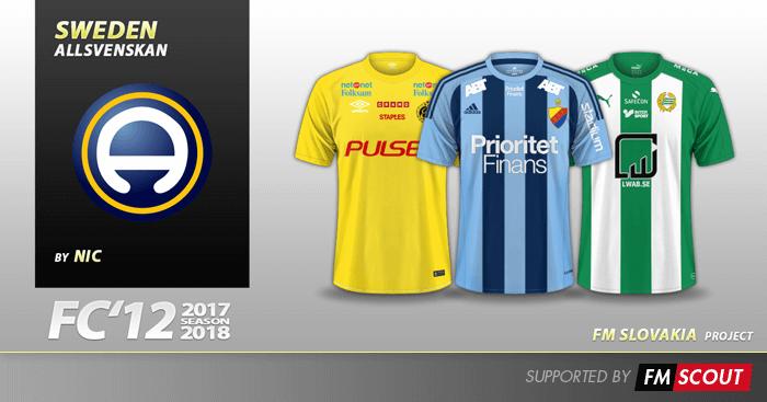 Fc 12 Sweden Allsvenskan Kits 2017 Fm Scout