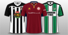FC'12 Wales JD Premier League kits 2017/18
