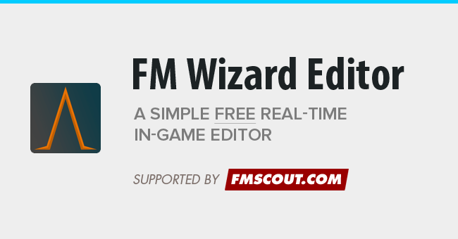 Football Manager 2018 Tools - FM Wizard Editor 2018
