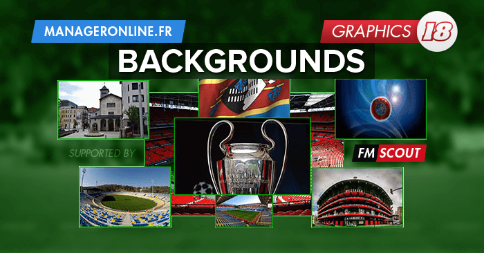 FM 2018 Misc Graphics - Football Manager 2018 Backgrounds Megapack (UPDATE 01)