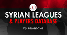 FM18 Database: Syrian Leagues & Players