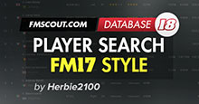 FM18 Player Search View FM17 Style