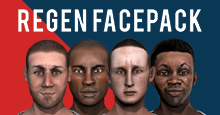 Regen Facepack for Football Manager by wtforkgaming