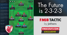 FM18 Tactic: 2-3-2-3 is the Future!
