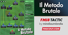 FM18 Tactic: Il Metodo Brutale 4-3-3