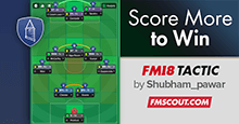 FM18 Tactic: Score More to Win