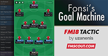 Fonsi's 4-3-3 Goal Machine | FM 2018 Tactic