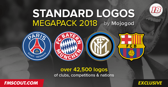 Football Manager 2018 Logo Packs - FM 2018 Standard Logo Pack / Update 1