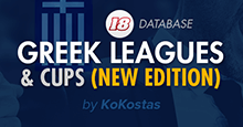 FM18 Greek Leagues & Cups | 2019 Edition
