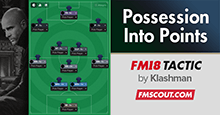 Turning Possession Into Points - FM18 Tactic CTW