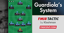 FM18 Tactic: Guardiola's Winning System CTW