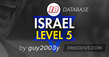 Israel Level 5 for FM18