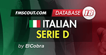 Italian Serie D for FM18 by ElCobra