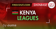Kenya Leagues for FM18