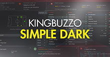 KingBuzzo15 Simple FM18 Dark Skin