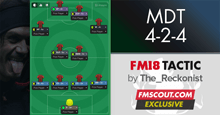 4-2-4 Maldini Doesn't Tackle for FM 18