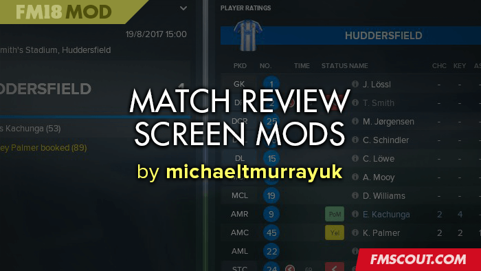 FM 2018 Other Files - FM18 Match Review Screen Mods