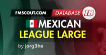 Mexican League Large FM18