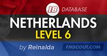 Netherlands Level 6 for FM18