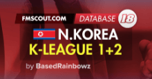 North Korea DPR K-League 1+2 for FM18 [UPDATED]