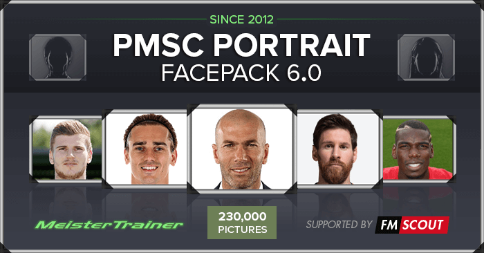 Football Manager 2018 Facepacks - PMSC Portrait & Icon Facepack 6.0 (Update 6.07 available)