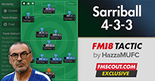 Sarri Tactics for FM18 | Sarriball 4-3-3