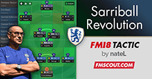 FM18 Tactic: Sarriball Revolution