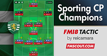 Sporting CP Champions 4-1-4-1 DM