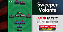FM18 Tactic: Sweeper Volante by Reckonist