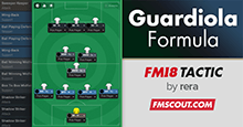 The Guardiola Formula for FM18