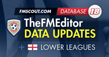 TheFMEditor FM18 Updates 21st March 2018
