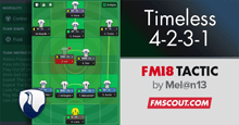 Timeless 4-2-3-1 Glory | FM18 Tactic