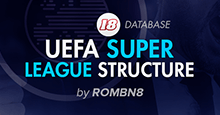 UEFA Super League Level 6 for FM18