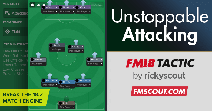 Unstoppable Attacking for FM18 | FM Scout