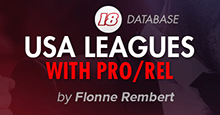 USA Leagues with Promotion / Relegation for FM18